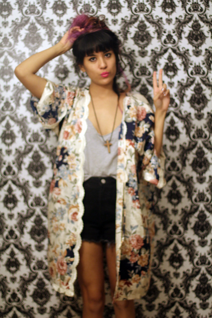 Tarte Vintage via shoptarte.com: floral lace scalloped kimono