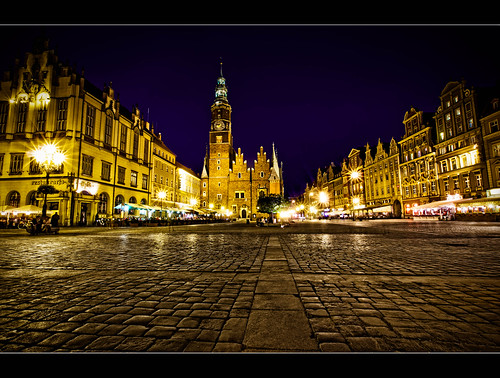 Wroclaw, night shot.../Explore
