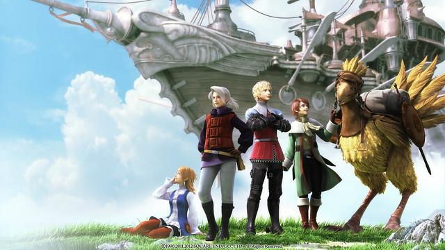 Final Fantasy III on PSN
