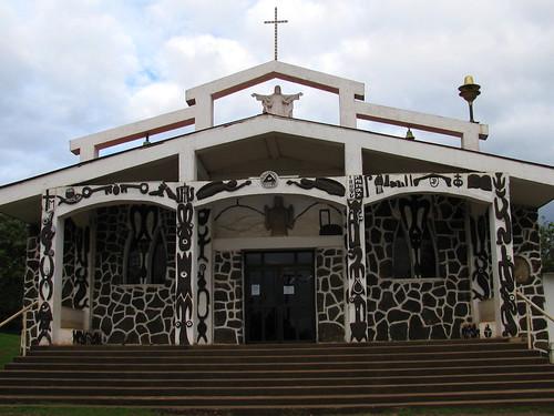 Iglesia de Hanga Roa