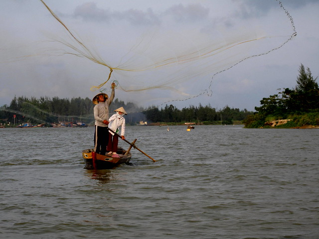 Fishing in Hanoi