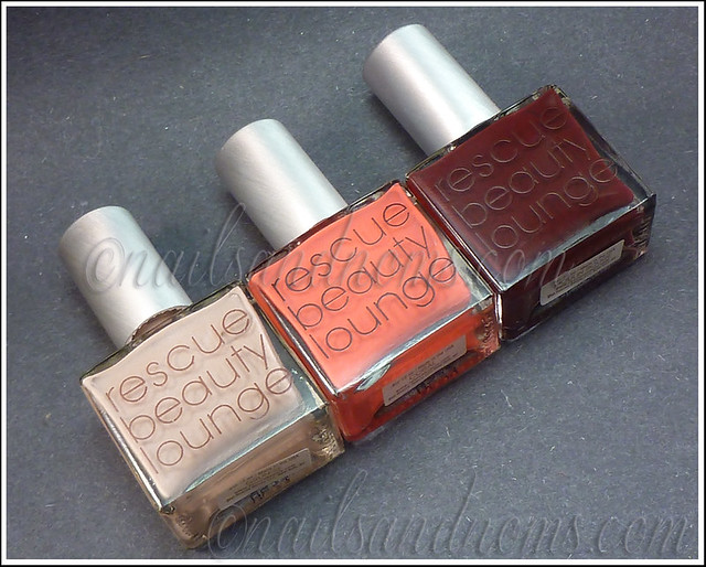 RBL Grunge, Coral, and Moulin Rouge