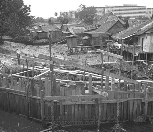 PICAS - Improvement works along Kallang River to reduce flooding (1968)