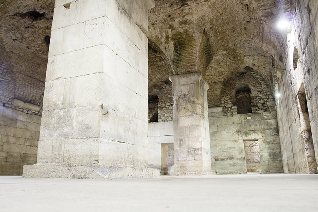 Diocletian's Palace - Under - Split