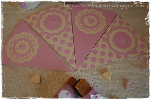 banderin Merbo Events Kit Peppa Pig