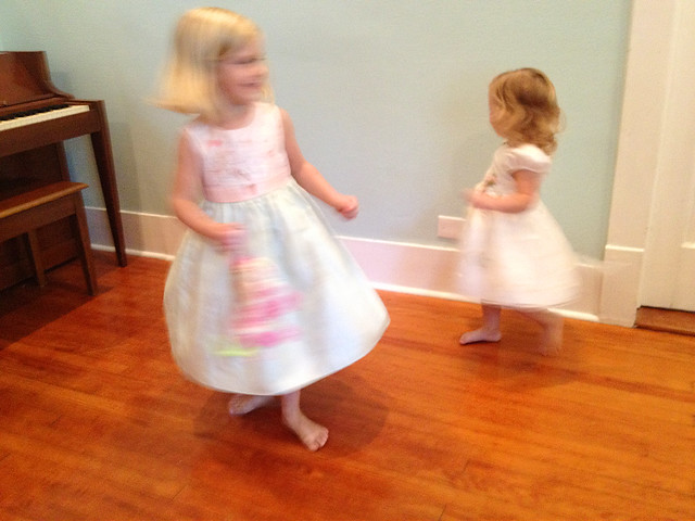 Twirling Sisters
