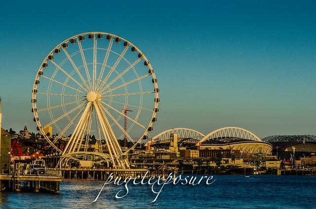 Pier 62 Seattle Great Wheel