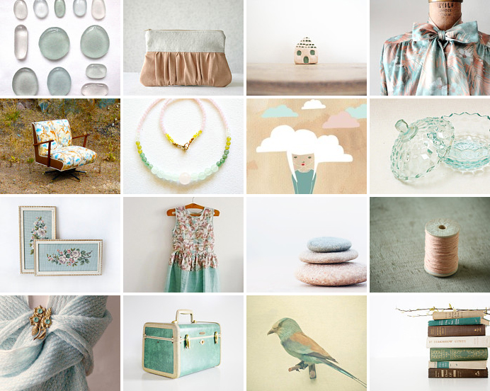 September seafoam... a few of my favourite finds from Etsy. | Emma Lamb