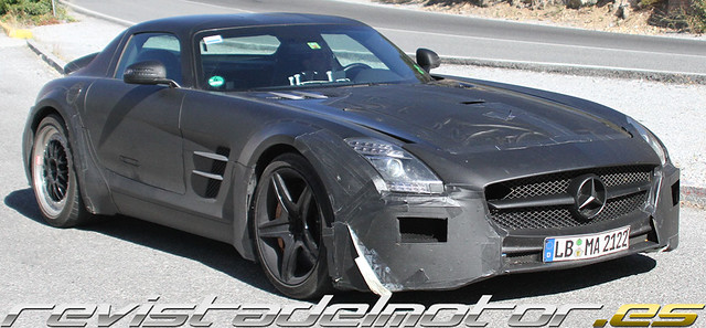 Prototipo Mercedes-Benz SLS AMG Black Series