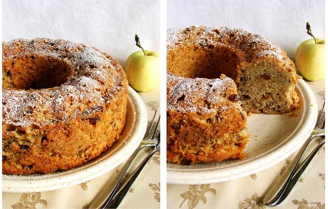 двойной яблочный пирог 2