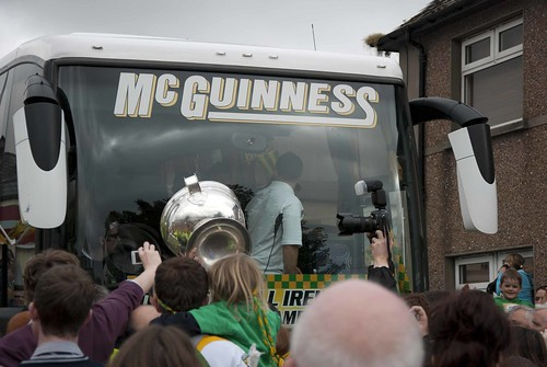 Sam Maguire in Milford, 26th September, 2012