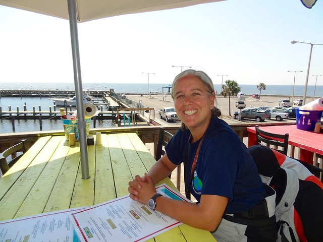 Sara on the gulf coast