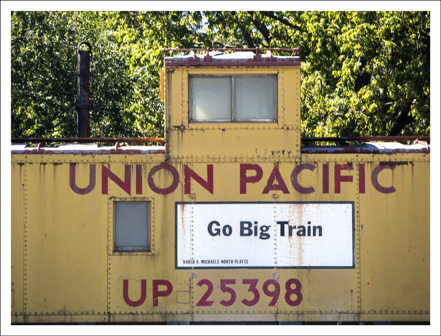 Union Pacific Caboose