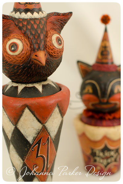 Owl-Vase-&-Cat-Container