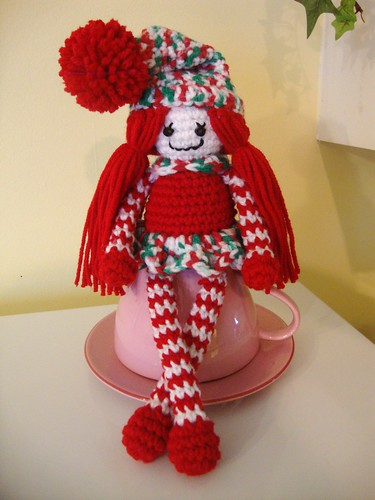 Christmas in July Crochet Elf