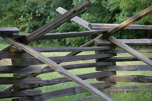 park fence national battlefield saylerscreek