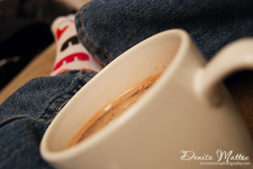 318: Mocha and fun socks