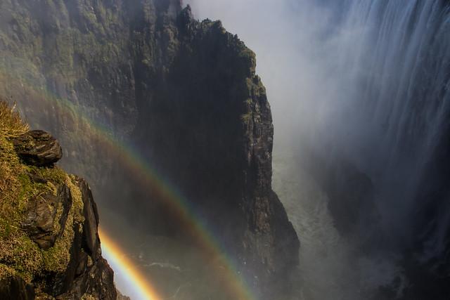 Rainbows - Victoria Falls - Zambia