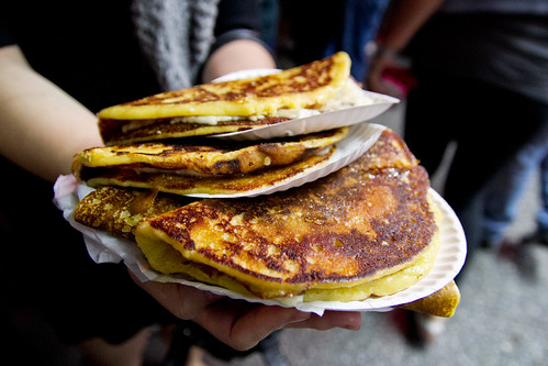 So many arepas de choclo