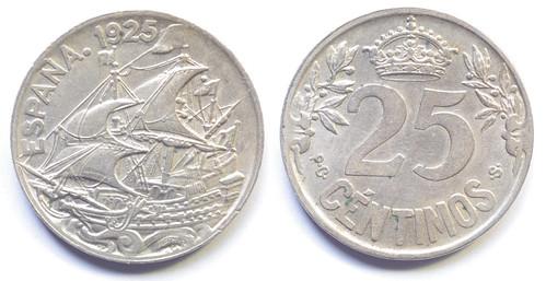 25 céntimos 1925