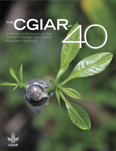 CGIAR at 40 Years: Book cover