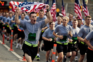 Marines, soldiers, wounded warriors, cadets run in New York City Tunnel to Towers Run, Sept. 30