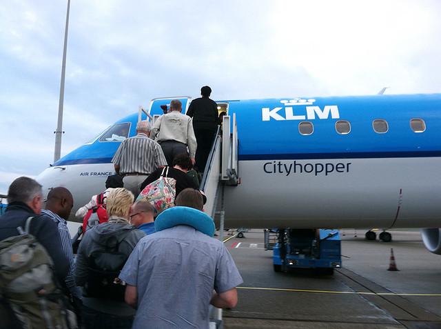 Boarding in Amsterdam