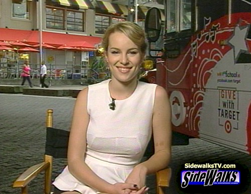 Bridgit Mendler on Sidewalks Entertainment