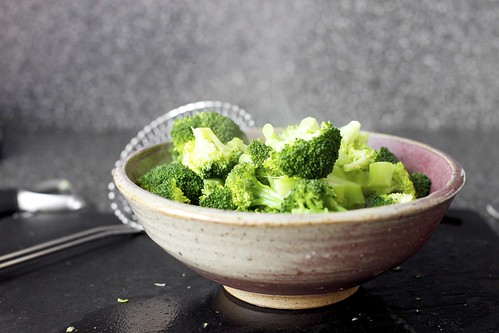 steamed broccoli, college ceramics