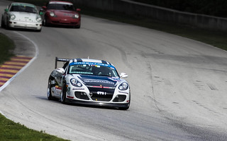 Isringhausen Porsche Cayman Race Car