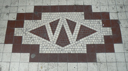 Woolworths logo in tile