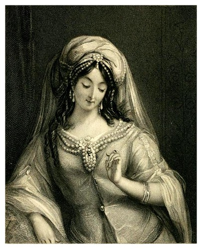 001-La hechicera-Heath's book of beauty-1833- Letitia Elizabeth Landon