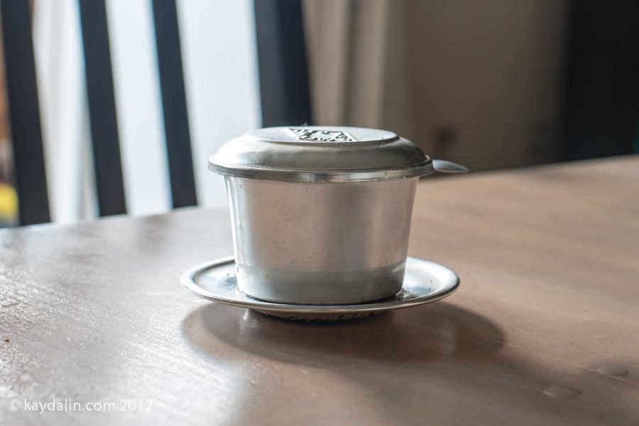 вьетнамский кофе железная чашка