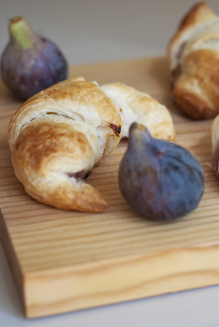 Croissants and figs
