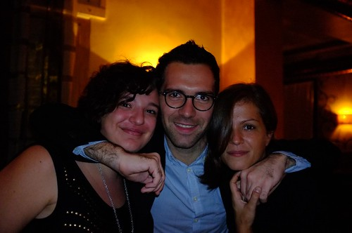 The Pinterest Italy team - from left to right: Azzurra, Domenico and Paola