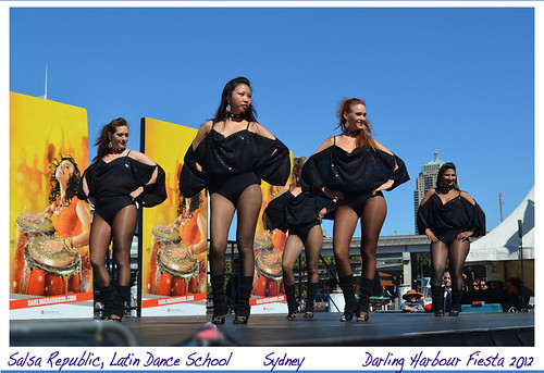 Darling Harbour Fiesta 2012/SALSA REPUBLIC/Latin dance,school