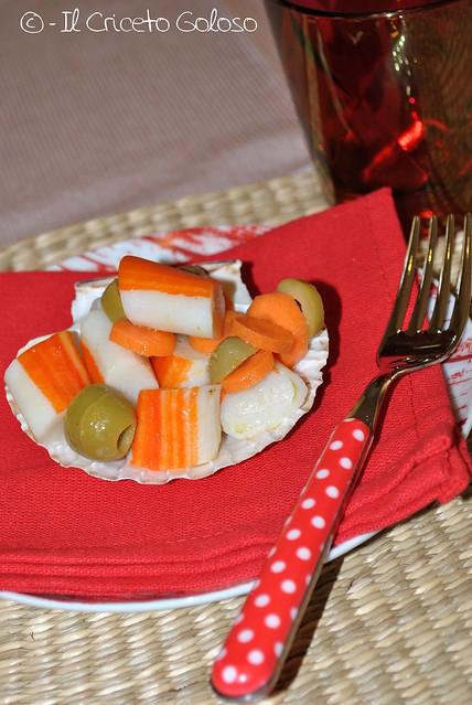 Antipasto di surimi alle olive 2