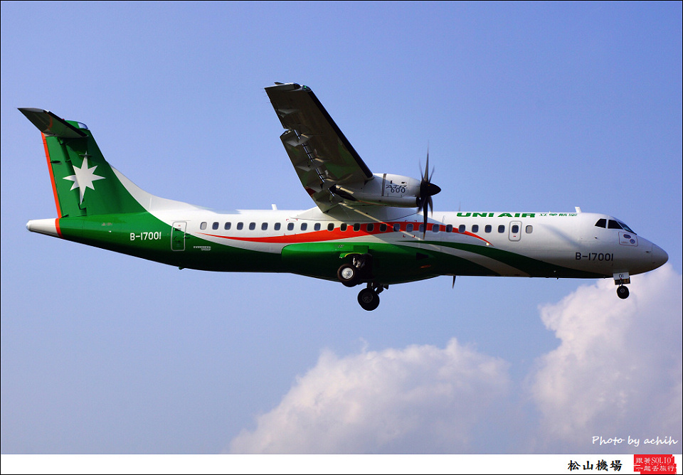UNI Air B-17001