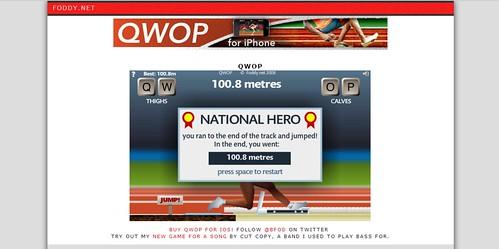 QWOP victory