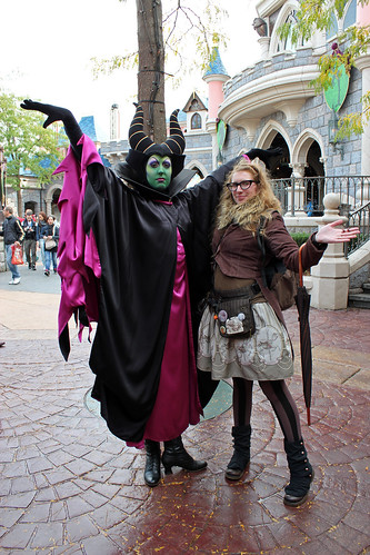 With Maleficent
