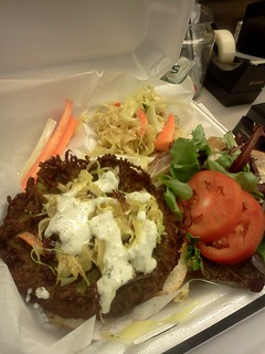 Falafel Burger