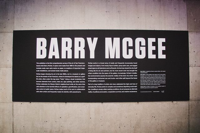 Barry McGee @ Berkeley Art Musuem