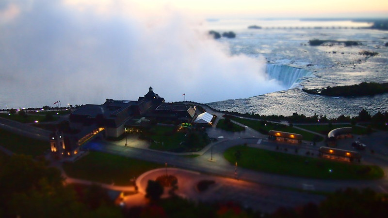 Niagara Falls - Canadian Side Tilt Shift
