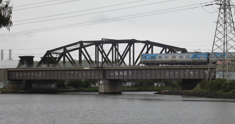 Main rail bridge, Footscray
