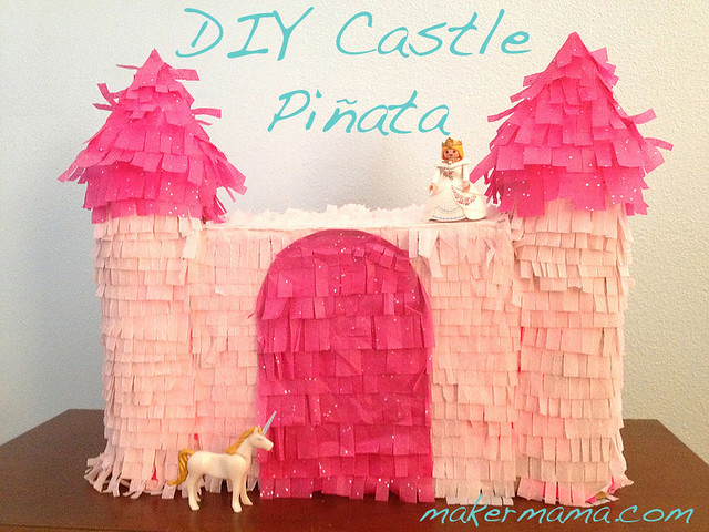 DIY Castle Pinata
