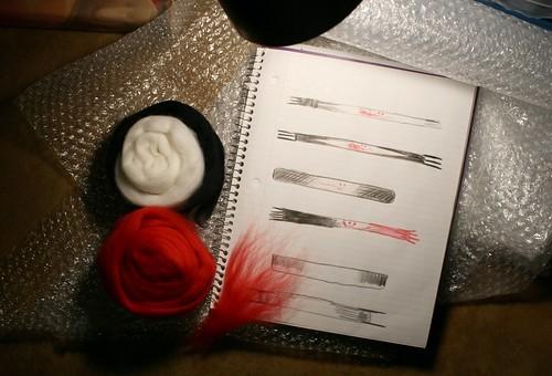 Planning Vampire Bite Scarves