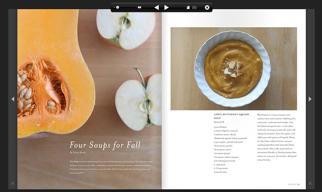 four fall soups in the fall '12 violet