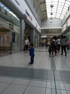 Lost in Shopping - The Crescent Shopping Mall - Limerick - Ireland