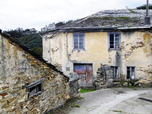 San Martin de Mondoñedo, a tiny village in Galicia