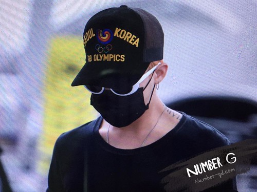 Big Bang - Incheon Airport - 26jun2015 - Number G - 01
